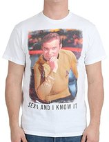 Star Trek Men's Star Trek Kirk Sexy T-Shirt