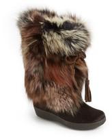 Pajar Women's 'Fox Trot' Genuine Fox Fur & Calf Hair Boot
