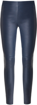 Veronica Beard Palladium Leather Legging