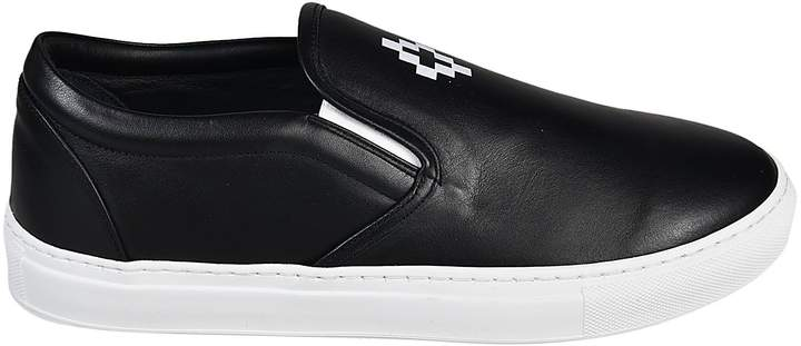 Marcelo Burlon County of Milan Logo Slip-on Sneakers