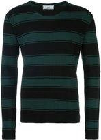Ami Alexandre Mattiussi rugby stripe sweater - men - Cotton - S