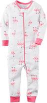 Carter's Flamingo Footless Pajamas - Toddler Girls 2t-5t