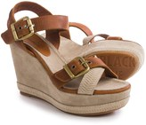 Blackstone DL41 Wedge Sandals - Leather (For Women)