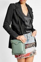 Manu Atelier Mini Pristine Leather Shoulder Bag