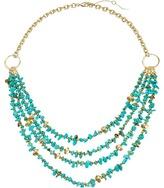Sam Edelman Layered Nugget Necklace 16 Necklace