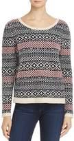 Soft Joie Murette Diamond-Pattern Sweater