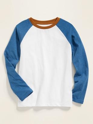 Old Navy Softest Color-Blocked Raglan-Sleeve Tee for Boys
