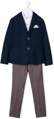 Colorichiari Four-Piece Tailored Suit
