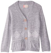 Roxy Girls' Miles From You Long Sleeve Cardigan Sweater (Little Kid) 8167507