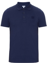 Loewe Logo-embroidered Cotton-piqué Polo Shirt