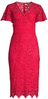 Shoshanna Talor Floral Lace Dress