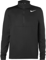 Nike Aeroreact Slim-Fit Stretch-Knit Half-Zip Golf Top