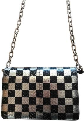 Alexander Wang Attica Metallic Leather Clutch bags