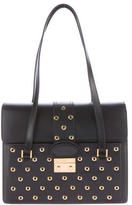 RED Valentino Grommet-Studded Leather Bag