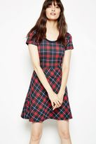 Jack Wills Dress - Leavett Tartan Knitted