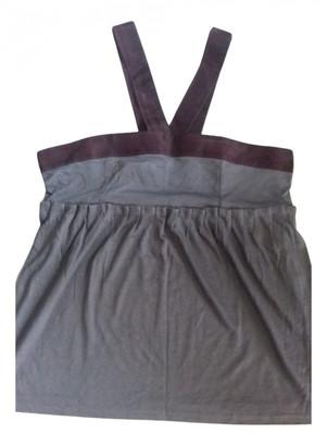 Club Monaco Grey Silk Tops