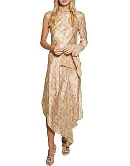 Bec & Bridge Bec + Bridge Anaconda Long Sleeve Midi Dress