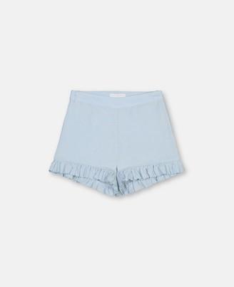 Stella Mccartney Kids Stella McCartney broderie anglaise shorts