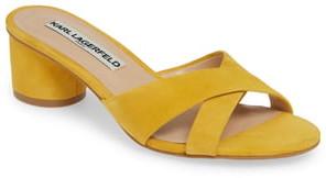 Karl Lagerfeld Paris Fawn Slide Sandal