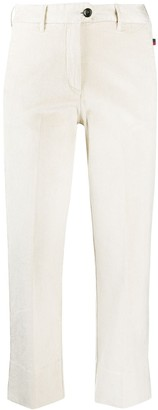 Woolrich High-Rise Slim-Fit Trousers