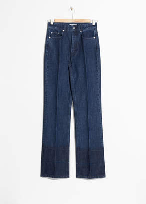 And other stories High Waisted Flare Jeans