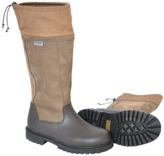 Mark Todd Pull on Tall Work Boot - Brown Size 40