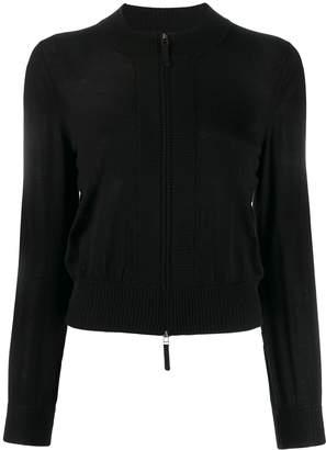 Paule Ka fitted zip-up cardigan
