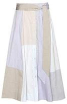 Lisa Marie Fernandez Chambray Cotton Skirt