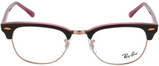 Ray-Ban Clubmaster Retro Square Frame Glasses
