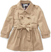 Ralph Lauren Cotton Swing Trench Coat