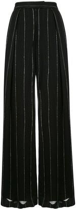 Dion Lee Chalk Stripe Float Trousers