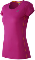 New Balance Women's Accelerate Scoopneck Running Tee