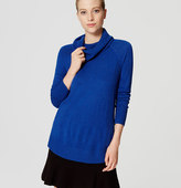 LOFT Cowl Tunic Sweater