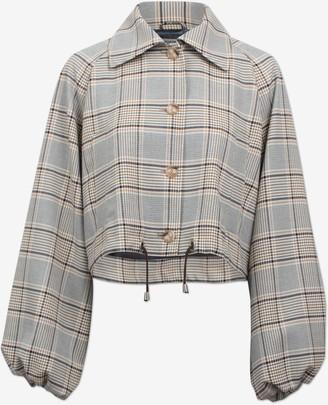 Baum und Pferdgarten Blair Jacket in Hounds Check - XS. | polyester