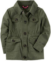 Carter's Girls Midweight Field Jacket-Preschool
