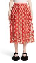 Simone Rocha Women's Star Embroidered Tulle Skirt