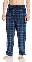 Van Heusen Men's Printed Matte Silky Fleece Pajama Pant