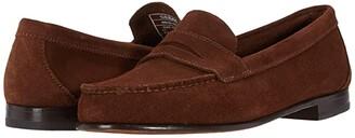 Sebago Clark Suede (Dark Brown) Men's Shoes