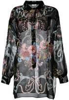 Fendi floral print shirt
