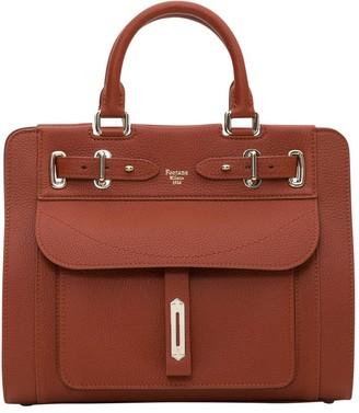 Fontana Milano A-lady Handbag With Double Handles In Togo