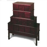 LIBRARY Carey Multimedia Style Drawer Alcott Hill Color: Cherry