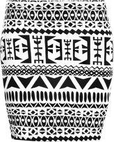 WearAll Women's Print Mini Skirt - 4-6