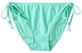 Xhilaration Junior's Side Tie Swim Bottom -Mint