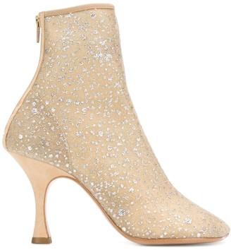 MM6 MAISON MARGIELA Toe-Shaped Ankle Boots