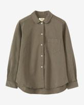Toast Stretch Cotton Twill Shirt
