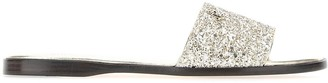 Jimmy Choo Glittered Minea Slippers