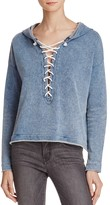Generation Love Lace-Up Hoodie