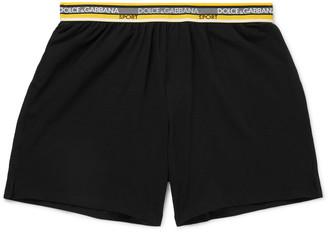 Dolce & Gabbana Stretch-Cotton Shorts