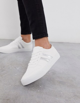 London Rebel lace up sneakers