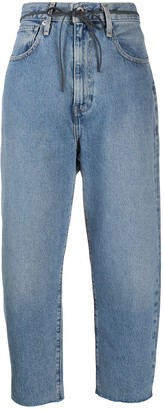 Levi's High-Rise Cropped Boyfriend Jeans